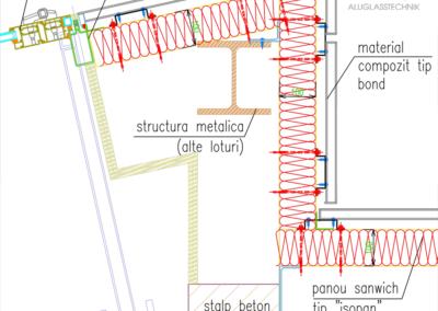 08-Alu-Glass-Technik-Barbu-Vacarescu-Office-Bucuresti-Structura-Metalica