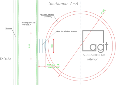 AFI Cotroceni - Detaliu